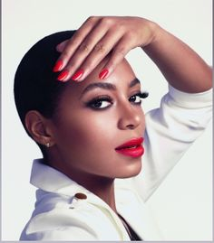 Solange Knowles Goes BOLD & BEAUTIFUL For Rimmel London | The Young, Black, and Fabulous