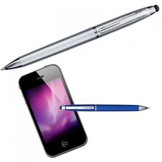 "Agent Stylus Promotional Pens allows you to use you phone with its ""stylus"" tip, for added accuracy using apps. Excellent for businesses within technological sectors."