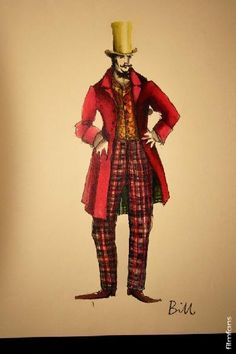 """From """"Gangs Of New York"""" (2002) worn by Daniel Day-Lewis as Bill 'The Butcher' Cutting design by Sandy Powell"""