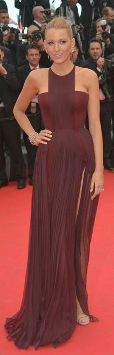 Blake Lively in Gucci Premiere gown