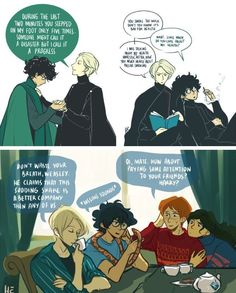 This isn't dramione... it's Drarry