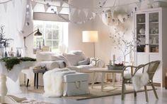 Vítejte v bílém zimním království (ve vašem obývacím pokoji)