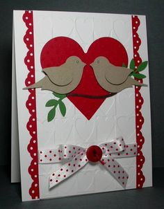 WT253 Valentine Birds by card crazy - Cards and Paper Crafts at Splitcoaststampers