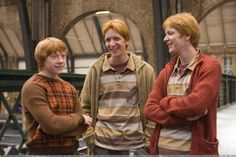 This HD wallpaper is about redheads people harry potter actors rupert grint ron weasley fred weasley george weasley oliver phel People Actors HD Art, Original wallpaper dimensions is file size is Fans D'harry Potter, Theme Harry Potter, Harry Potter Love, Harry Potter Characters, Harry Potter World, James Potter, Oliver Phelps, Drarry, Fandoms