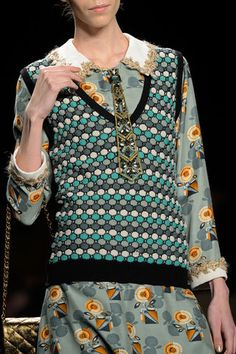 Anna Sui Fall 2013 Ready-to-Wear Collection