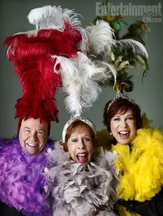 Tim Conway, Carol Burnett, and Vicki Lawrence, reunited partial cast of the Carol Burnett show. Brilliant comedy.