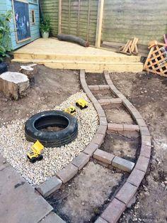 55 Best Backyard Playground Design Ideas Create a fun and exciting backyard pl Playground Design, Backyard Playground, Backyard For Kids, Outdoor Play Spaces, Outdoor Kitchens, Outdoor Rooms, Outdoor Living, Sensory Garden, Natural Playground