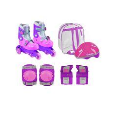 Loving this Chicago Skates Pink Training Skate Set - Kids on Toys For Girls, Kids Toys, Chicago Girls, Skater Girl Style, Scooter Custom, Skate Girl, Baby Alive, Roller Skating, Diy Crafts