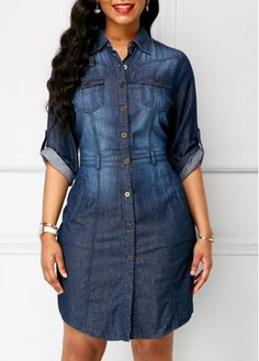 Vestidos de jeans para damas