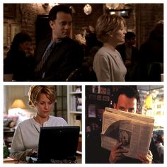 You've Got Mail - Kathleen Kelly aka Meg Ryan.  My all time favorite movie! :)