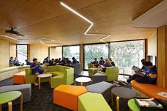 Renovation and Extension At St Monica's College by Branch Studio Architects | Flexible modular furniture