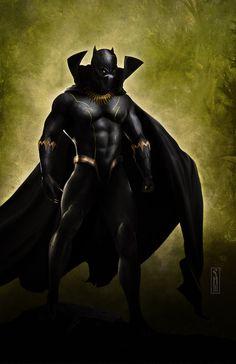 Black Panther by Scott Harben