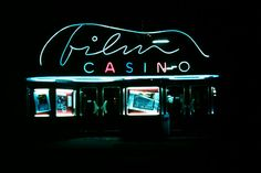 Filmcasino from the Vienna, Screens, 1920s, Theater, Alternative, Films, Neon Signs, Houses, Culture