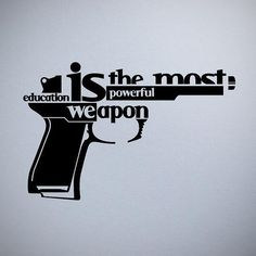 So true...// especially firearms education!