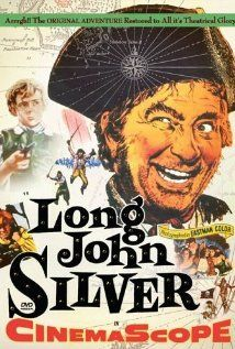 """December 21, 1954:  The movie, """"Long John Silver,"""" starring:  Robert Newton, Connie Gilchrist,and Lloyd Berrell is released."""