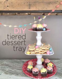 DIY tiered dessert t