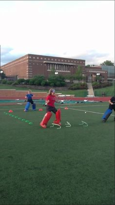 Field Hockey Goalie Footwork Drill