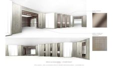 Yabu Pushelberg, Presentation Styles, Hotel Guest, Hotel Interiors, Hotel Lobby, Store Fronts, Retail Design, Floor Plans, Layout