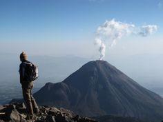El volcán de Colima