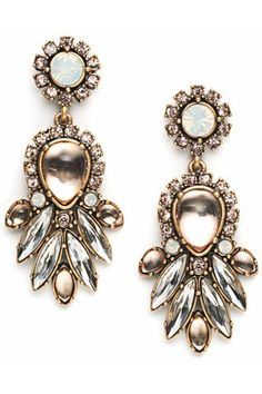 ann taylor loft breast cancer earrings 2013 | Loft Live In Pink Jewelry - Giuliana Rancic