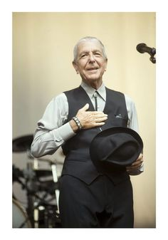 Leonard Cohen... If you don't know his music and writing,... Welcome.