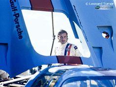 """""""The Last Turn"""" Jo Siffert Framed by 917, Sebring 1971"""