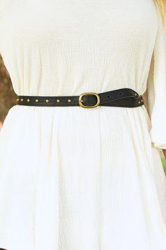 Such A Stud Belt: Black  #shophopes