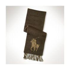 Polo Ralph Lauren Big Pony Jacquard Scarf ($58)