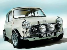 "doyoulikevintage: "" Mini Cooper s """