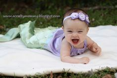 How to sew a baby mermaid costume