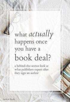 "On one lucky, hard-won day,  you'll hear the words: ""You have an offer on your book."" But what happens next? Here's an inside look at what to expect once you have a book deal! #pubtip:"