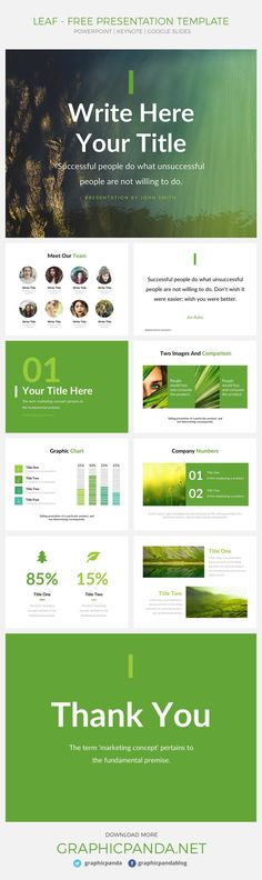 This is a modern and professional free presentation template for - company profile free template