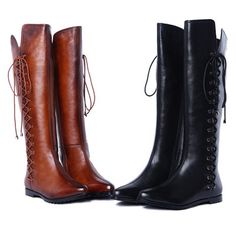 ENMAYER brand new fashion Genuine leather knee high boots for women snow winter long Motorcycle boots pointed lady shoes-in Women's Boots from Shoes on Aliexpress.com | Alibaba Group