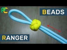 How to Tie a Paracord Ranger Bead - YouTube