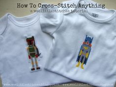 weelittlestitches: How To Cross-Stitch Anything
