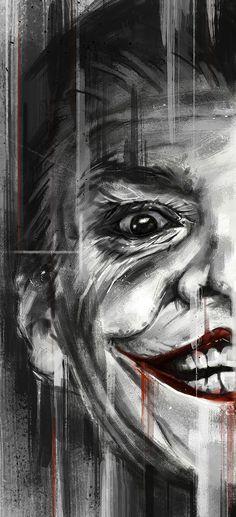Batman 75th Anniversary Tribute - PP#10 :: Jack Nicholson as Joker in 1989 - Art by Robert Bruno