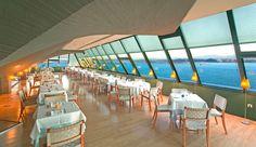 Cafetería restaurante del museo marítimo del Cantábrico, Santander #Cantabria #Spain