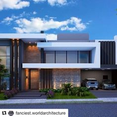 Architecture Discover Image may contain: house cloud sky and outdoor Modern House Facades Modern Architecture House Architecture Design Morden House Modern Villa Design Small Modern Home Modern Homes House Front Design Modern Mansion Modern House Facades, Modern Architecture House, Modern House Plans, Architecture Design, Morden House, Modern Villa Design, House Front Design, Modern Mansion, Modern Homes