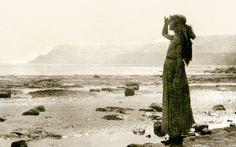 Barbara Hepworth on holiday at Robin Hood's bay, 1925