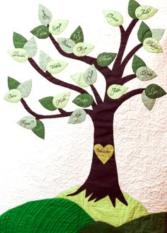 Family Tree Quilts Ideas Family Tree Quilt Kit Personalized Family Tree Quilt For Sale On Etsy Family Tree Quilt Store