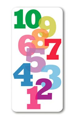 NEW YEAR NUMBERS new year cards