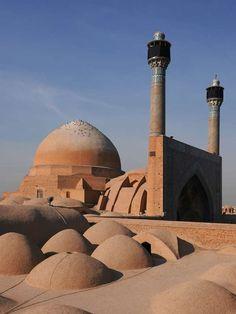 Lista światowego dziedzictwa UNESCO - Wielki meczet (Masjed-e Jamé of Isfahan) w Isfahan (Iran)