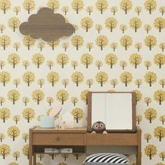 Ferm Living Dotty Wallpaper - Yellow