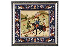 Indian-Style Needlepoint on OneKingsLane.com
