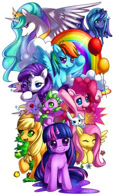 MLP: Friendship is Magic by *Jiayi on deviantART