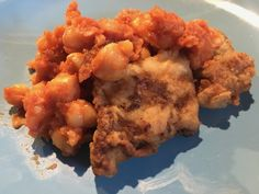 Italian Baccalà with Chickpeas – Toscana Mia Italian Fish Recipes, Diced Potatoes, Chickpeas, Tomato Sauce, Cod, Risotto, Cauliflower, Stuffed Peppers