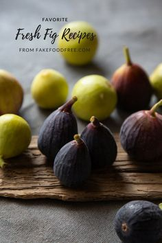 Looking for fresh fig recipes? These are a few of my favorites that I've made over the years, from breakfast and desserts to plant-based dinners! Fig Recipes, Best Salad Recipes, Coffee Recipes, Baking Recipes, Clean Eating Recipes, Healthy Dinner Recipes, Whole Food Recipes, Healthy Food, Yummy Food