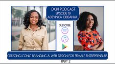 Okiki Podcast Episode Adeyinka Part 4 How did Adeyinka grow as an Entrepreneur and develop in her skills for her career? In this clip, Adeyinka discusses mentorship and development! Entrepreneur, Web Design, English Study, Personal Branding, 6 Years, Personal Development, Social Media Marketing, Branding Design, Learning