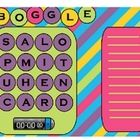 This is a Boggle  game for the smartboard. Its FREE, all I ask is you leave feed back and/or a rating please!  This has extra letter pieces and a ...