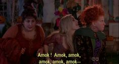 Hocus Pocus..really wish this movie was on cable right now. Love it